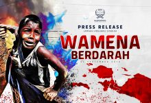 "Photo of PRESS RELEASE ""TRAGEDI WAMENA BERDARAH"""