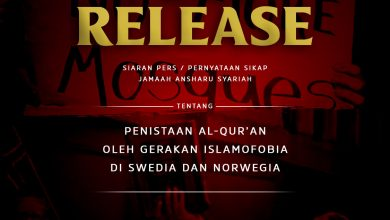 "Photo of [PRESS RELEASE] ""Penistaan Al-Qur'an Oleh Gerakan Islamofobia Di Swedia Dan Norwegia"""