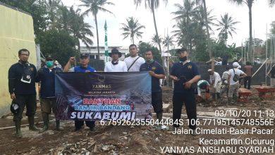 Photo of Yanmas Ansharu Syariah Serahkan Bantuan Untuk Pembangunan Mushola Hancur Akibat Banjir Bandang Sukabumi