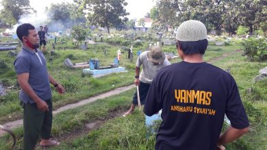 Photo of Bersinergi Bersama Masyarakat, Yanmas Ansharu Syariah Nusra Gelar Bakti Sosial di Kota Bima