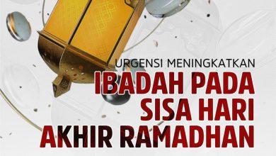 Photo of URGENSI MENINGKATKAN IBADAH PADA SISA HARI AKHIR RAMADHAN
