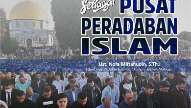 Photo of MASJID SEBAGAI PUSAT PERADABAN ISLAM