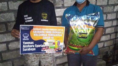 Photo of Yanmas Ansharu Syariah Surabaya Salurkan Bantuan Sosial Kepada Warga Terdampak PPKM dan Isoman